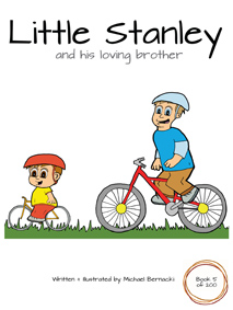 Little Stanley and his loving brother (Book 5 of 200) Cover