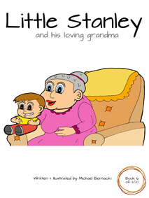 Little Stanley and his loving grandma (Book 6 of 200) Cover