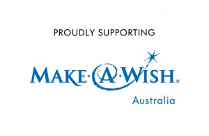 Make A Wish - Supporting Logo