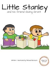 Little Stanley and his friend Giving Grant (Book 175 of 200) Cover