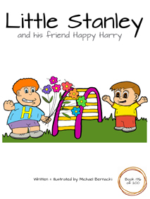 Little Stanley and his friend Happy Harry (Book 176 of 200) Cover