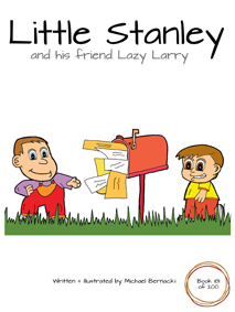 Little Stanley and his friend Lazy Larry (Book 181 of 200) Cover