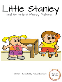 Little Stanley and his friend Messy Melissa (Book 183 of 200) Cover