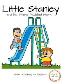 Little Stanley and his friend Muddled Mark (Book 184 of 200) Cover