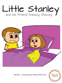 Little Stanley and his friend Sneezy Stacey (Book 193 of 200) Cover