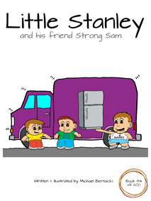 Little Stanley and his friend Strong Sam (Book 194 of 200) Cover