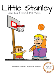 Little Stanley and his friend Tall Tom (Book 196 of 200) Cover