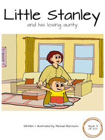 Little Stanley and his loving aunty (Book 9 of 200) Cover