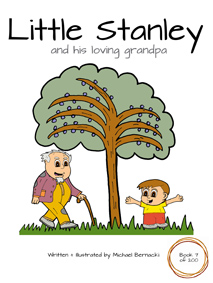 Little Stanley and his loving grandpa (Book 7 of 200) Cover