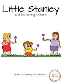 Little Stanley and his loving sisters (Book 4 of 200) Cover