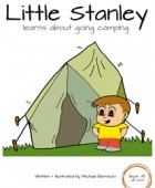Little Stanley learns about going camping