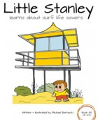 Little Stanley learns about surf life savers