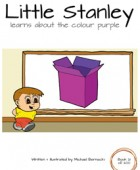 Little Stanley learns about the colour purple