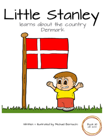 Little Stanley learns about the country Denmark