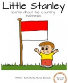 Little Stanley learns about the country Indonesia