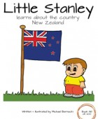 Little Stanley learns about the country New Zealand