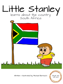 Little Stanley learns about the country South Africa