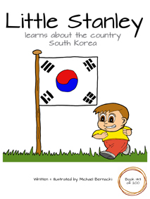 Little Stanley learns about the country South Korea
