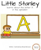 Little Stanley learns about the letter A in the alphabet