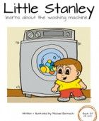 Little Stanley learns about the washing machine