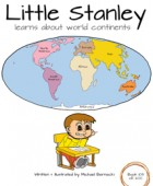 Little Stanley learns about world continents