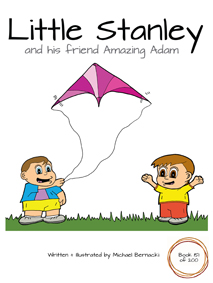 Little Stanley and his friend Amazing Adam (Book 151 of 200) Cover