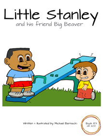 Little Stanley and his friend Big Beaver (Book 153 of 200) Cover