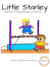 Little Stanley and his friend Bouncy Bruce (Book 154 of 200) Cover