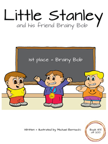 Little Stanley and his friend Brainy Bob (Book 155 of 200) Cover