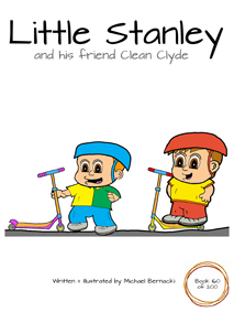 Little Stanley and his friend Clean Clyde (Book 160 of 200) Cover