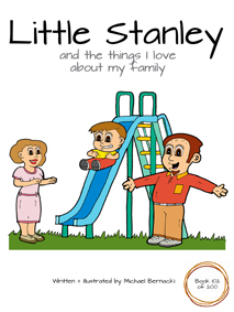 Little Stanley and the things I love about my family (Book 102 of 200) Cover