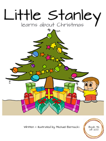 Little Stanley learns about Christmas (Book 92 of 200) Cover
