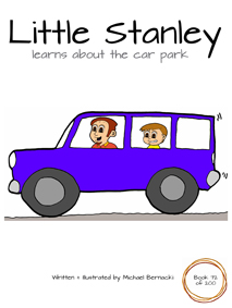 Little Stanley learns about car park (Book 72 of 200) Cover