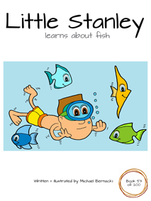 Little Stanley learns about fish (Book 53 of 200) Cover