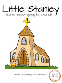 Little Stanley learns about going to church (Book 73 of 200) Cover
