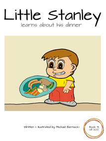 Little Stanley learns about his dinner (Book 91 of 200) Cover