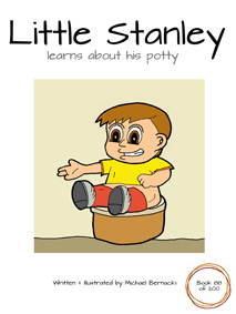 Little Stanley learns about his potty (Book 88 of 200) Cover