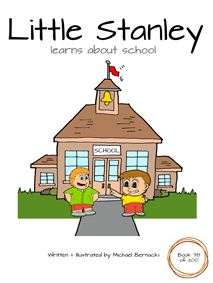 Little Stanley learns about school (Book 78 of 200) Cover