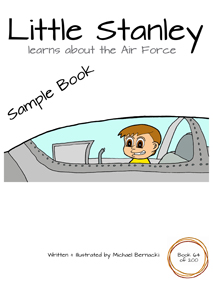 Little Stanley learns about the Air Force (Book 64 of 200) Cover