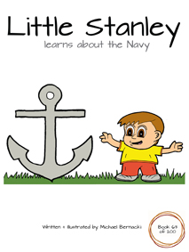 Little Stanley learns about the Navy (Book 63 of 200) Cover