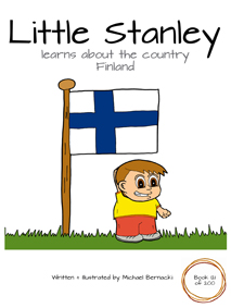 Little Stanley learns about the country Finland (Book 121 of 200) Cover