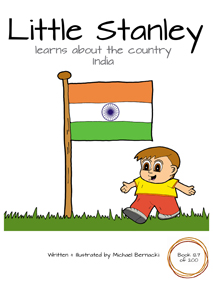 Little Stanley learns about the country India (Book 127 of 200) Cover