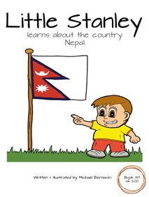 Little Stanley learns about the country Nepal (Book 137 of 200) Cover