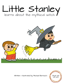 Little Stanley learns about the mythical witch (Book 68 of 200) Cover