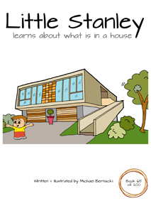 Little Stanley learns about what is in a house (Book 65 of 200) Cover